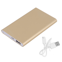 Super Thin 5000mAh External Power Bank Mobile Phone Battery Power Supply Charger For Smart Phones