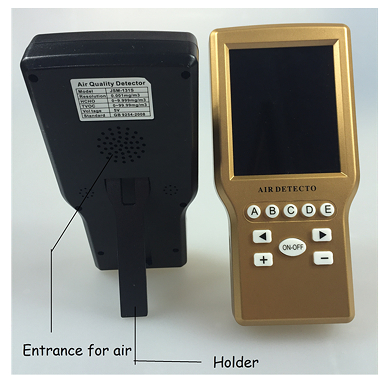 Dust meter indoor air quality monitor with imported TVOC sensor<br><br>Aliexpress