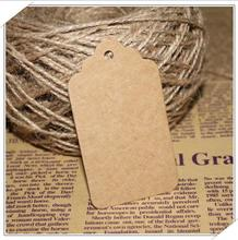 109x4.5cm Brown Blank Kraft Bookmark Paper Tags Wedding Party Gift DIY Label wedding christmas decoration - ctrue Official Store store