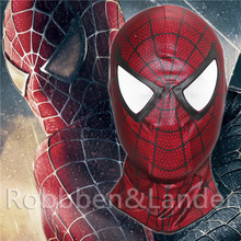 The Amazing Spider Man Red Spider Balaclava Carnage Cosplay Costume Halloween Hood Spider-Man 3 PU Fabrics Full Face Mask