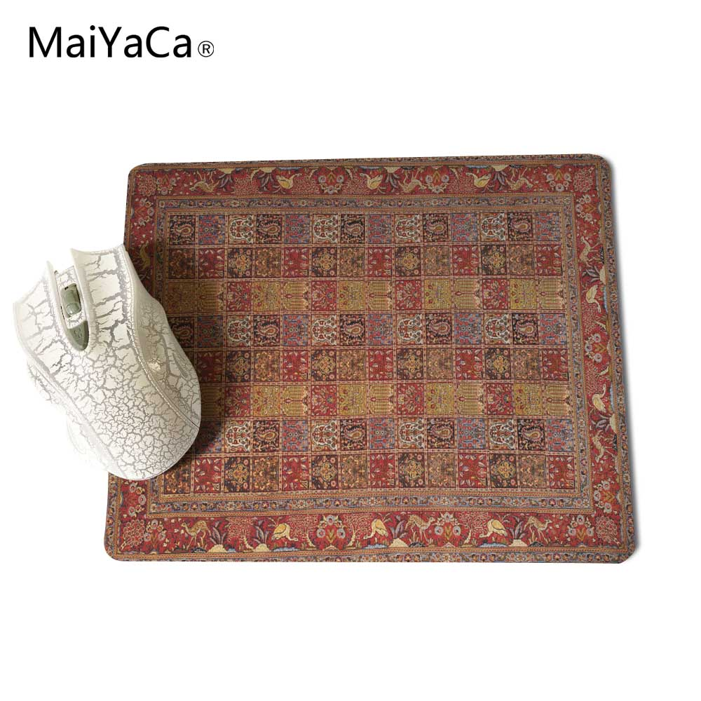 MaiYaCa NEW Customized Supported Fashion Design Cool Persian Rugs Mouse Mats Anti-Slip Rectangle Mouse Pad 250X290 MM 7