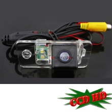 CCD HD Car Reverse Rear View Backup Camera for 02-11 Audi A4(B6/B7/B8)/A6L parking camera wire wireless(China)