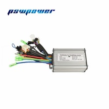 36V/48V 500W Brushless DC Sine Wave sensor Controller ebike Electric Bicycle Hub Motor Controller with right output(China)