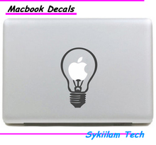 Light Bulb for apple Creative Painting Sticker Skin for Macbook Air 11 13 Pro13 15 Retina Laptop Computer Vinyl Decal
