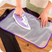 Anti-heat Home Using Iron Cloth Cover Press Mesh Protective Ironing Pad High Quality Convenient Ironing Boards(China)
