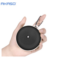 AKASO F1 Outdoor Portable Bluetooth Speaker rugged  Speakers with 3w Powerful Driver/built-in Mic wireless speaker