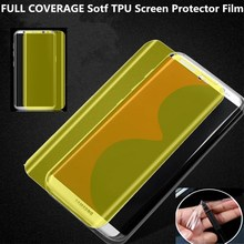 A.spanice 3D FULL COVERAGE Sotf TPU Screen Protector Film For Huawei P8 Lite 2017 /P9 Lite 2017 Full Cover (Not Tempered Glass)(China)