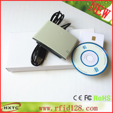 RFID Card Reader Writer USB Contact ACR38U R4 Support ISO7816 smart ic Card, SIM Card With 2PCS sle4442 test card+ SDK