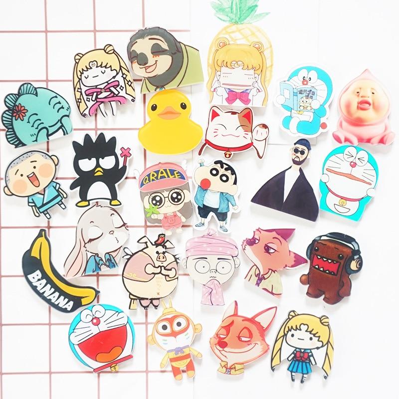lot Cartoon Star Wars South Park Pusheen Fridge Magnets Blackboard Magnets Refrigerator Stickers Kids Gifts Party Favor