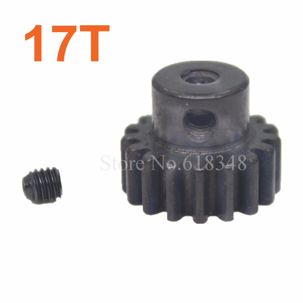 10pcs 17T 390 Motor Gear Metal Upgrade For WLtoys 1/18 A949 A959 A969 A979 K929 Buggy Monster Remote Control Car Parts K949-59<br><br>Aliexpress
