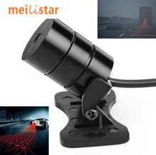 Car Styling Motorcycle Anti Collision Laser Tail Led car Fog Lights Auto Brake Parking Warning Lamps Car-Styling For BMW E46