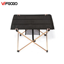 WFGOGO Outdoor Tables Camping Portable Aluminium Alloy Tables Waterproof Ultra-light Durable Folding Table Desk For Picnic
