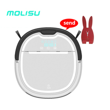 MOLISU A3 Robot Vacuum Cleaner Mop Water Thome floor , 2017 new A6 house sweeping cleaning, free shipping from Russia(China)