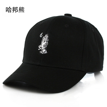 Embroidery Drake 6 God Pray Cap Women Men Baseball Caps Brand Design 2017 New Snapback Caps Black White Hats Casquette XBMY197#