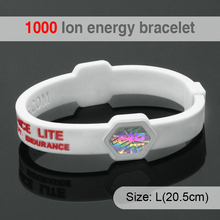 Bio Elements Energy Silicone Ion Balance Wristband Power Therapy Health Band Bracelet & Bangle For Women & Men Sport Wristbands