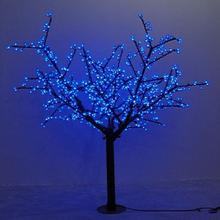 Waterprood IP65 LED Cherry Blossom Tree Light LED synthetic 480pcs LED Bulbs totally 1.5m Height Christmas tree light(China)