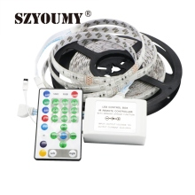 SZYOUMY SMD 5050 Led flexible Running Horse Strip Horse Race 54LED/M LED strips 50M+1 pcs Free 25key IR controller(China)