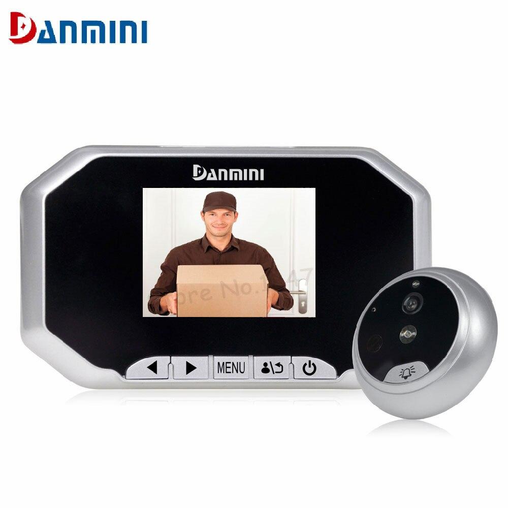 Smart 3.0inch TFT LCD Photo/Video Recording Wireless Door peephole Camera Viewer Night Vision Digital Door Camera With Doorbell<br>