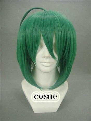 Macross Frontier Macross F Ranka Lee Short Green Cosplay Wigs + free  Wig Cap free shipping<br><br>Aliexpress