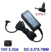 12V 3.33A laptop AC power Supply adapter charger for Samsung Smart PC 500T XE300TZC XE300TZCI XE700T1C Pro 700T 2.5* 0.7mm
