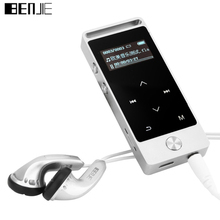 Original MP3 Music Player OLED S5 Touch Button 8GB Lossless Alloy Metal Body 30 hours Continuous Playback with FM