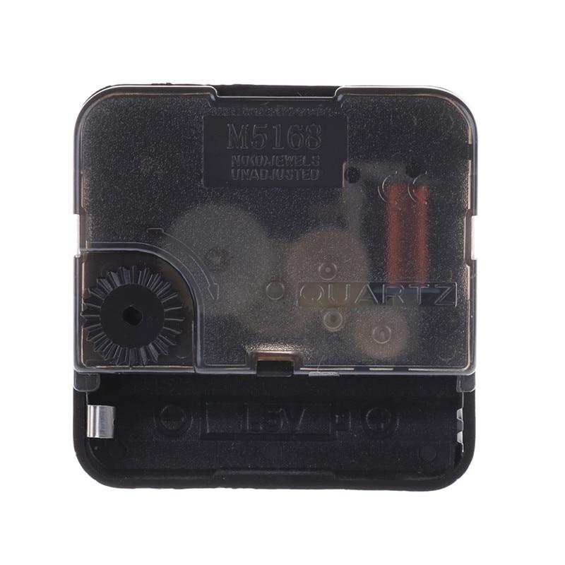 15mm Long Thread Quiet Mute Quartz Clock Movement Mechanism DIY Repair Tool IN