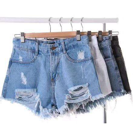new womens punk rock Fashion vintage grunge hole retro high waist sexy denim shorts jeans pantsОдежда и ак�е��уары<br><br><br>Aliexpress