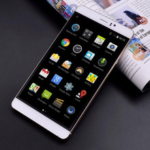 Best 6 inch phone MTK6580A quad core 4800MA battery Android 5.1 Dual SIM card 3G WCDMA Unlocked Smartphone Mobile phone(China)