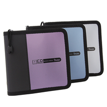 CD bag Large capacity DVD box  car CD bag  clip the disc DVD package