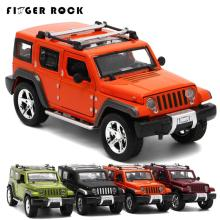 Jeep Wrangler Off-road Vehicle Car-styling Simulation Alloy Cars 1:32 Scale Collection Diecast Metal Auto Model Toy for Children(China)
