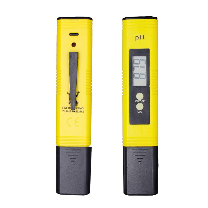100pcs/lot Protable LCD Digital PH Meter Pen of Tester accuracy 0.01 Aquarium Pool Water Wine Urine automatic calibration %off 13