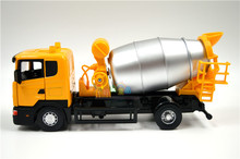 brand new very cool swden scania cement mixer truck 1 / 43 scale diecast metal car model toy for gift / children