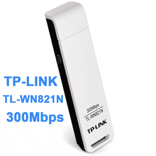 TP-LINK TL-WN821N Wireless N300 USB Adapter,300Mbps, Two Internal High Gain Antenna, IEEE 802.1b/g/n, WEP, WPA/WPA2 Support QSS
