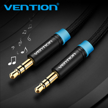 Vention Aux Cable Audio 3.5 Jack to 3.5 mm Jack Audio Cable 1m 3.5mm mini jack Cable For Car Headphone Beats Speaker Aux Cord(China)