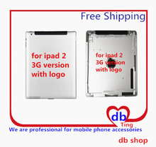 For Apple iPad 2 A1396 A1397 3G Version Battery Door Back Rear Housing Cover Case Replacement Free Shipping