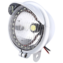 Universal Motorcycle Frog Light Motorbike Bright Cool Appearance LED Energy Conservation Easy To Install