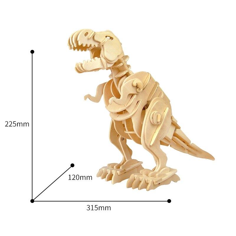 Robotime Creative DIY 3D Walking T-rex