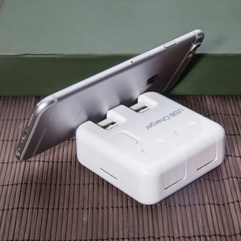USB Charger Station Cell Phones Stand Charger HUB EU Plug 5 Ports USB Input Voltage 220V Output Voltage 5V 1A (3)