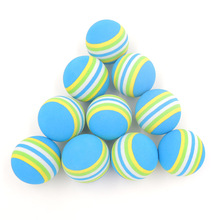 10PCS Golf ball rainbow ball indoor rainbow ball indoor exercise ball(China)
