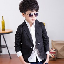 New Autumn Spring Casual Boys Blazer Jacket Fashion Boys Blazer Single Breasted Jackets For Boys F005