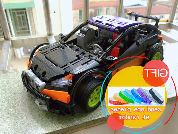 20053 640pcs Technic Series The Hatchback Type R MOC-6604 Building Block Toy 1314 Toys lepin<br>