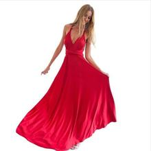 Buy 2017 Summer Sexy Dress Women Red Beach Long Bandage Multiway Convertible Dresses Infinity Wrap Robe Maxi Dress Wrap Vestidos for $14.44 in AliExpress store