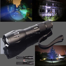 Promotion Bright 5 Mode led flashlight 3800 Lumen Zoomable CREE XML T6 LED 18650 AAA Flashlight Focus Torch Zoom Lamp Light 3000