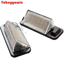 2Pcs Super White error free E36 LED License Plate Lamp for BMW 92-98 E36 318i ti 323i 325i 328i is M3