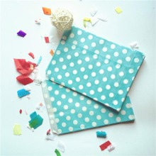 13x18cm Mini Polka Dot Paper Bags 25pcs/lot Popcorn Bags Party Food-Safe Paper Bag Gift Bags Wedding Birthday Party Supplies