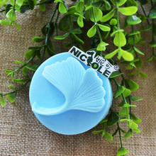 Nicole R0024 Gingko Leaf Design Silicone Natural Soap Molds Custom Silicone Soap Moulds