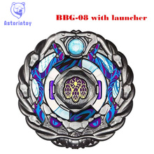 1PCS BEYBLADE METAL FUSION beyblade Zero-G  BBG-08 Pirates Orojya 145D   Metal Fusion 4D Beyblade  With  Launcher
