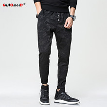 GustOmerD 2017 Camouflage Men Pants Big Pocket Spring Sporting Pants Men High Quality Sweatpants Men Cargo Joggers