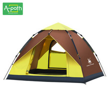 Outdoor Travel Tente Camping Automatic Tent 4 Person Beach Gazebo Awning Folding Marquee Mosquito Net Winter Tents China Single