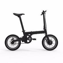 Folding Electric Bike Bicycle Ebike 16 Inch 36V 250W Geared Motor Hidden Battery(China)